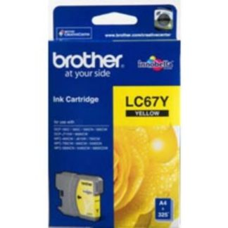 Brother Ink LC67 Yellow