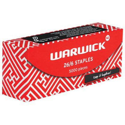 Warwick Staples 26/6 Pack 5000