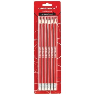 Warwick Pencil HP 6 Pack