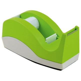 Dixon Tape Dispenser Green And White Small 33M