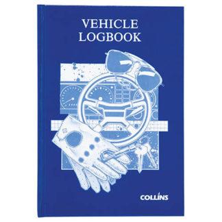 Collins Vehicle Log Book - 44 Leaf