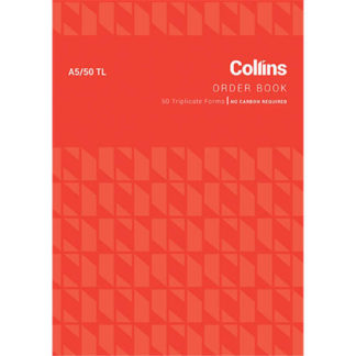 Collins Goods Order A5/50TL - No Carbon