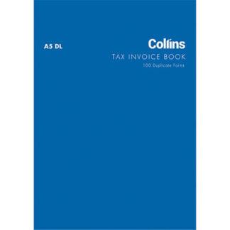 Collins Tax Invoice A5DL - Carbon