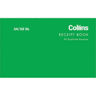 Collins Cash Receipt 34/50DL - Carbon