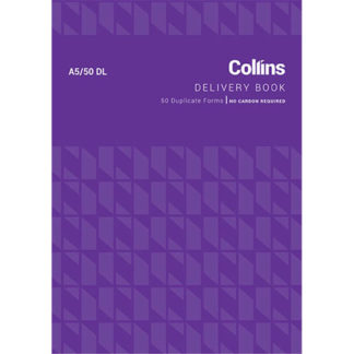 Collins Goods Delivery A5/50DL - No Carbon