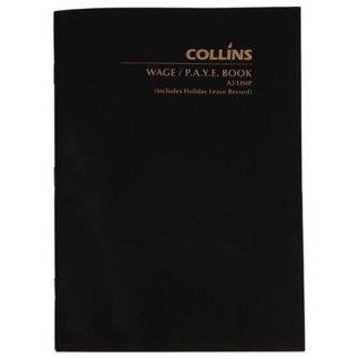 Collins Wage Book A5 -64 Leaf