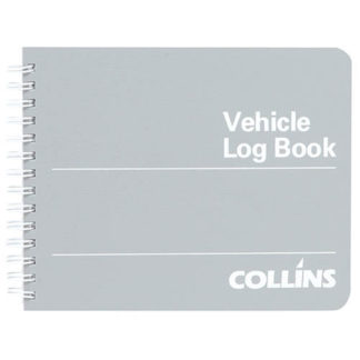 Collins Vehicle Log Book Wiro - 53 Leaf