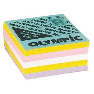 Olympic Memo Cube Half Height Refill