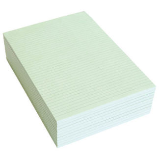 Olympic Topless Pad A4 Green 100 Leaf 80GSM (10pk)