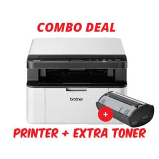 Brother DCP-1610W Mono Laser Printer Combo