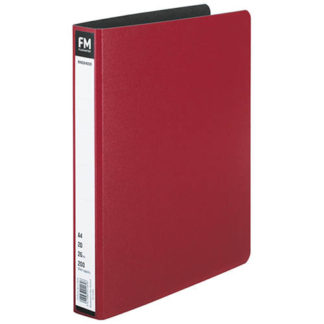 FM Ringbinder A4 Red Trunk Board