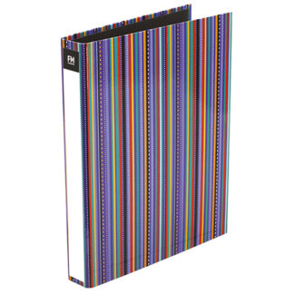 FM Ringbinder Vivid Stripe Passion Purple A4
