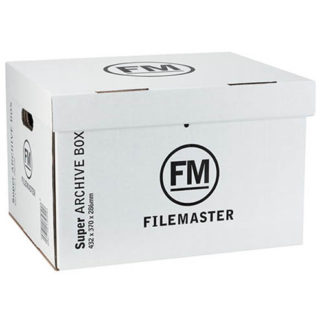 FM Box Archive Jumbo Box Super Strength White (3pk)