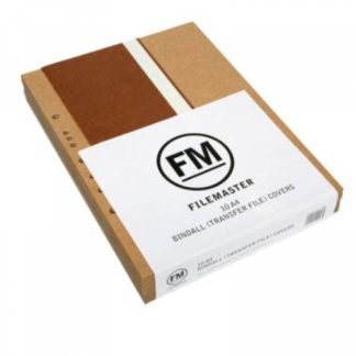 FM File Bindall Cover A4 (10pk)