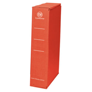FM Storage Carton Red Foolscap (25pk)
