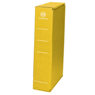 FM Storage Carton Yellow Foolscap (25pk)