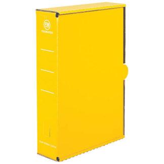 FM Storage Carton Yellow Gloss Laminated Foolscap (15pk)