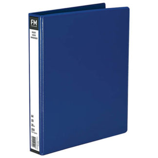 FM Binder Overlay A4 2/26 Blue Insert Cover