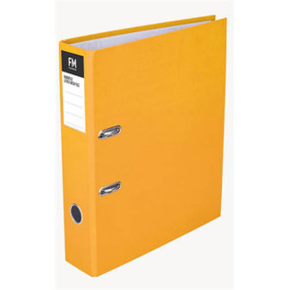 FM Binder Radofile Yellow Foolscap Lever Arch