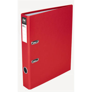 FM Binder Radofile Mini Red Foolscap Lever Arch