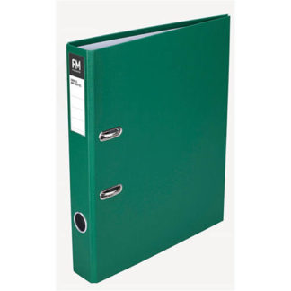 FM Binder Radofile Mini Green Foolscap Lever Arch