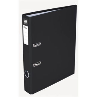 FM Binder Radofile Mini Black Foolscap Lever Arch