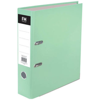 FM Binder Pastel Mint Green A4 Lever Arch