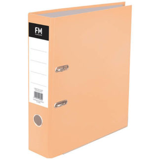 FM Binder Pastel Sunset Orange  A4 Lever Arch