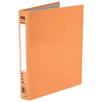 FM Ringbinder Pastel Sunset Orange A4
