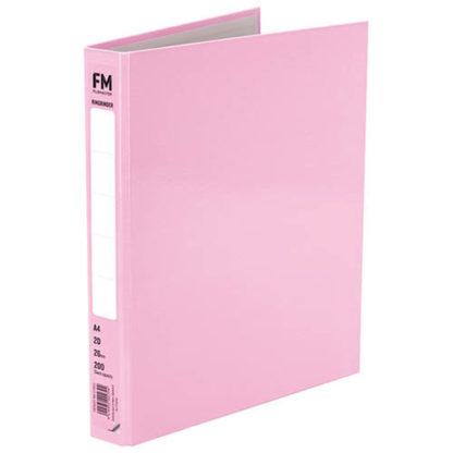 FM Ringbinder Pastel Piglet Pink A4