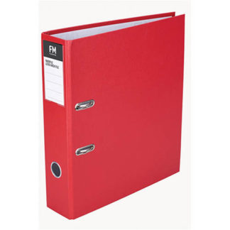 FM Binder Radofile Red A4 Lever Arch