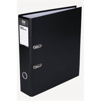 FM Binder Radofile Black A4 Lever Arch