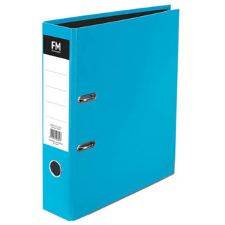 FM Binder Vivid Ice Blue A4 Lever Arch