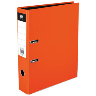 FM Binder Vivid Burnt Orange Foolscap Lever Arch