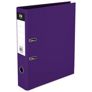 FM Binder Vivid Passion Purple Foolscap Lever Arch