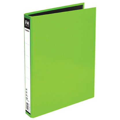 FM Ringbinder Vivid Lime Green A4