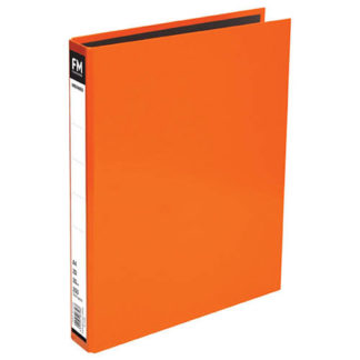 FM Ringbinder Vivid Burnt Orange A4