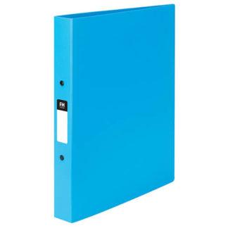 FM Ringbinder Vivid Ice Blue A4 2/25