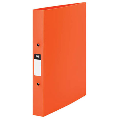 FM Ringbinder Vivid Burnt Orange A4 2/25