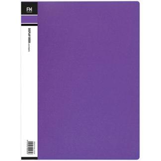 FM Display Book Vivid A4 Passion Purple 20 Pocket