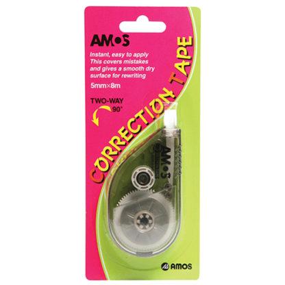 Amos Correction Roller 2-Way 5mm X 8M