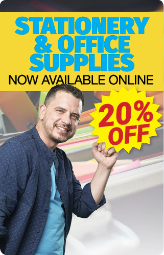 20 OFF STATIONERY HOME copy