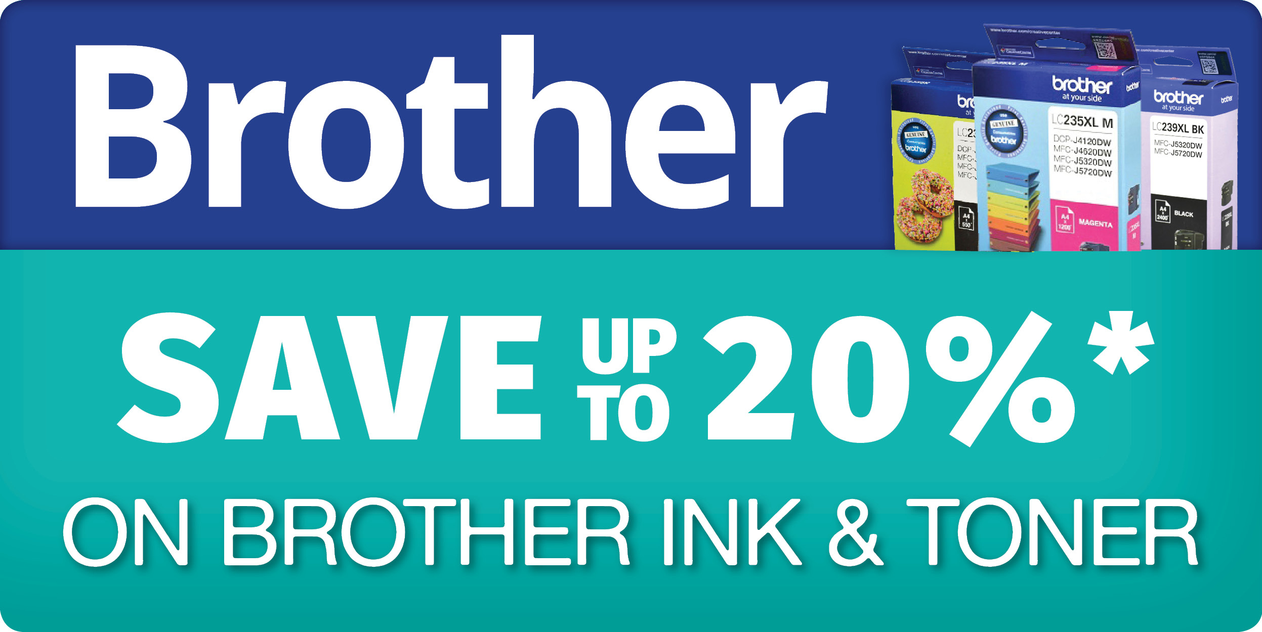 20 off brother