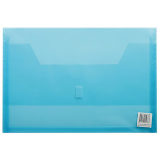 FM Wallet Polywally 325F Blue Transparent