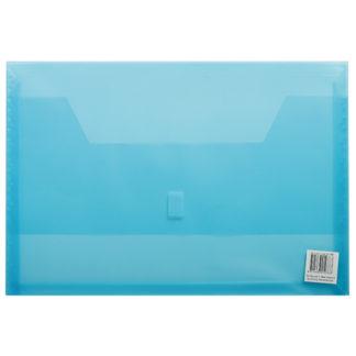 FM Wallet Polywally 325F Blue Transparent