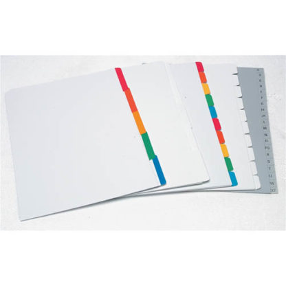 Croxley Binding Indices A4 White 5 Tab