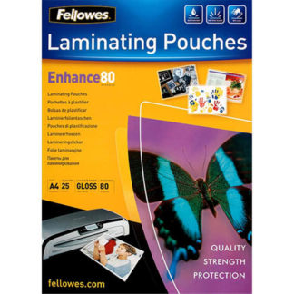 Fellowes Laminating Pouch A4 80 Micron (25)