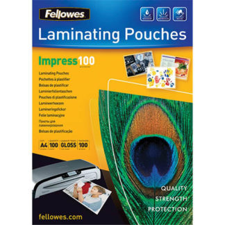 Fellowes Laminating Pouch A4 100 Micron (100)
