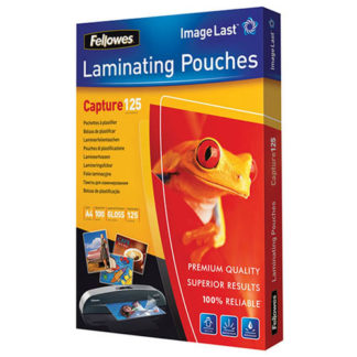 Fellowes Laminating Pouch A4 125 Micron (100)