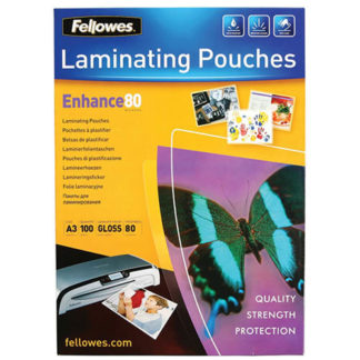 Fellowes Laminating Pouch A3 80 Micron (100)